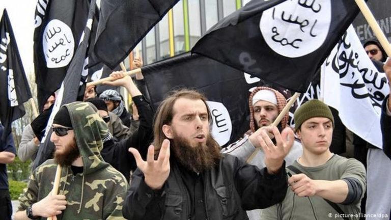 Demonstracja niemieckich salafitów
